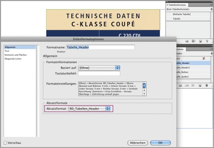 data2type GmbH: ePub für (In)Designer | Tabelle in InDesign