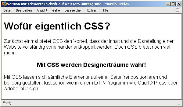 data2type GmbH: Farben und CSS