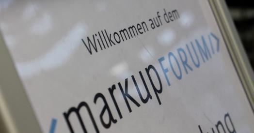 Willkommen auf dem markupforum 2013
