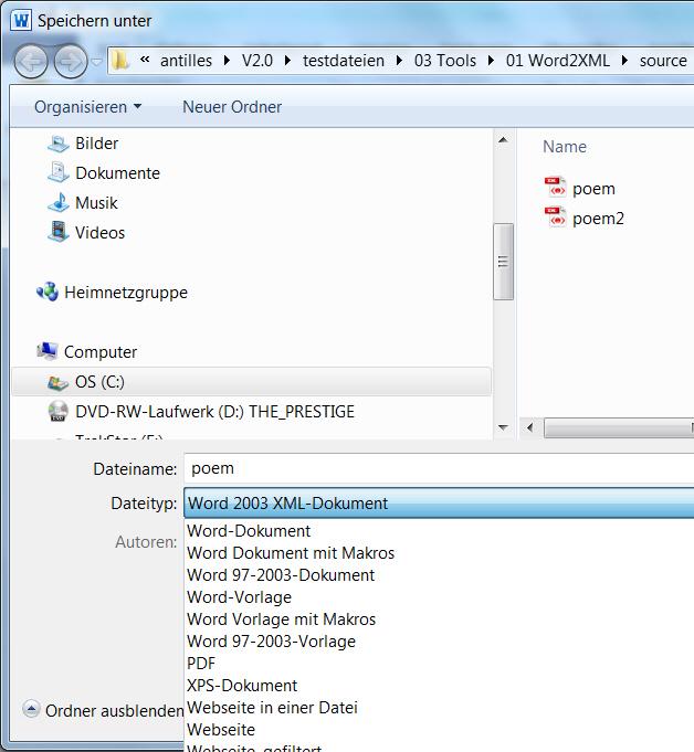 data2type GmbH: Software | antillesXML | Help | Functions | Tools ...