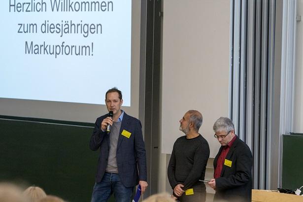 Moderatoren des Markupforum 2017