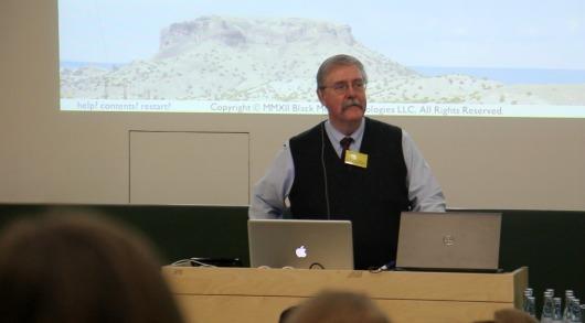 Keynote von Michael Sperberg-McQueen
